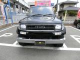 ランドクルーザープラド 3.0 SXワイド ディーゼル 4WD 1ナンバー ターボ 黒全塗 外16AW