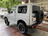 ジムニー ワイルドウインド 4WD インタークーラーターボ 木目調天板パネル