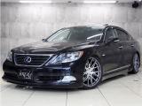 LS600h バージョンS 4WD LSハイブリッド SR黒革ナビ新品エアロ