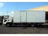 フォワード 冷蔵冷凍車 4トン ワイド 寝台 冷蔵冷凍 格納PG