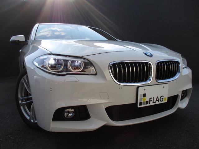 BMW 523d Mスポーツ ワンオーナー ブラウンレザーシート