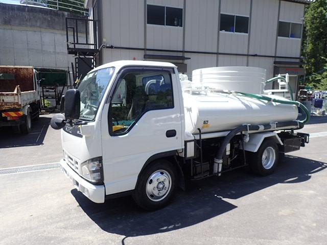 いすゞ エルフ  H18 2.7t バキュームカー モリタ