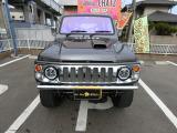 ジムニー ランドベンチャー 4WD 5MTターボ グレー全塗 外品バンパー