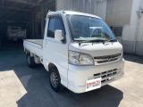 ハイゼットトラック エクストラ 4WD 外品ナビ・アルミ・本革調シートカバー
