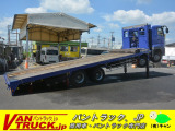 スーパーグレート 車載車 4軸 ベッド 重機運搬 ハイジャッキ