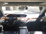 Sクラス S500ロング  ロリンザ仕様 黒革SRHDDナビBカメラ