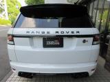 レンジローバースポーツ SVR 4WD 本革 コントラストR ナビTV 記録簿