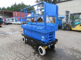 アイチ 高所作業車 8m SV08B移動式足場100V充電