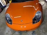 ボクスター GTS ディーラー車 5MT GT3RSオレンジ