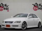 マークX 2.5 250G Fパッケージ スマートエディション フルエアロ Weds19アルミ 車高調