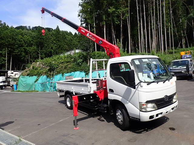 日野 デュトロ クレーン 4段 H19 2t 4段 標準ロング 全塗装