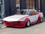 クレスタ  社外マフラー 車高調 フルエアロ SSR14インチアルミ ワークスフェンダー