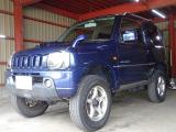 ジムニー ワイルドウインド 4WD リフトUP ハーフレザー