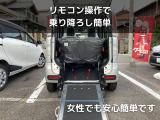 スペーシア  ハイブリッドG 未使用車 福祉車両 車いすスロープ 電動ウインチ 新品ナビ