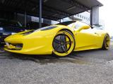 458イタリア  ベースグレード 正規ディーラー車 屋内保管 パワークラフト付き 探知機...