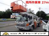 レンジャー 高所作業車 タダノ27m高所作業車 AT車