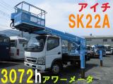 キャンター 高所作業車 高所作業車 22M アイチ製 SK22A