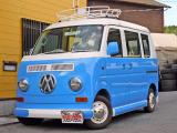 エブリイ PA ハイルーフ 全塗装済 バス仕様 両側スライド