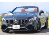 Sクラスカブリオレ AMG S63カブリオレ 4マチック プラス 4WD 後期612ps/新車約3000万!!