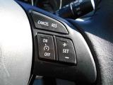 こちらのボタンでは、クルーズコントロールの設定ができます!高速走行時に特に便利です!
