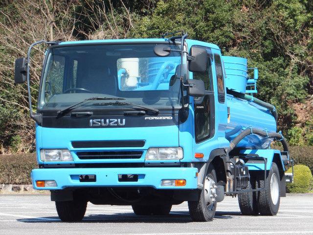 いすゞ フォワード バキュームカー 3.5t