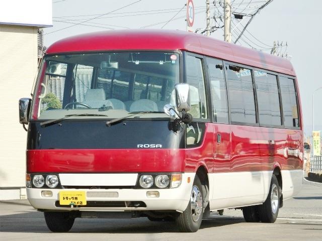 三菱ふそう ローザ バス 29人乗 マイクロバス