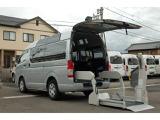 トヨタ ハイエースバン 3.0 ウェルキャブ Bタイプ ロング ルーフサイドウインドゥ付 ディーゼルターボ