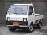 三菱 ミニキャブトラック スーパーデラックス 三方開 4WD