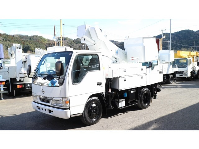 日産 アトラス 高所作業車 アイチ高所作業車SH09A 1レバー