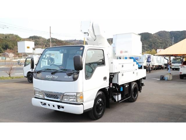 いすゞ エルフ 高所作業車 SH09A 1レバー