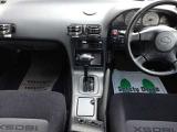 後期特有の180SXロゴ入りシート 写真は4ATですが、5MTへ換装し公認取得し納車となります。 ETC  AUTOエアコン CD DVD 運転席エアバッグ