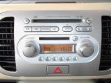 CD再生機能付き。音楽を聴きながらのドライブは楽しいですよね!!