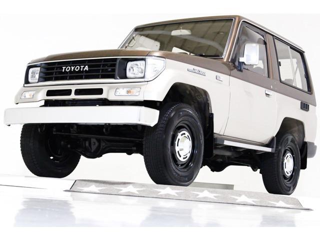トヨタ ランドクルーザープラド 2.4 SX ディーゼル 4WD Tベ済 5MTナロー ヴィンテージ16A