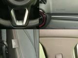運転席・助手席のエアバッグに加え、カーテン&フロントサイドエアバックは万一の衝突時に、車両側面の衝撃から乗員の方を守ります。防御姿勢が取りづらい側面衝撃に備える補助安全装備です。