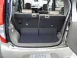 荷室も軽自動車ながら十分使えます。