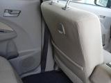 助手席シート後ろにはポケットとフックが。コンビニ袋やちょっとした荷物ならここで対応できますよ。