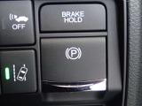 電子制御パーキングブレーキを搭載しております!状況に合わせたブレーキのコントロールを自動で行いよりいっそう安心感のあるパーキングブレーキです!