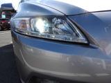 明るくデザイン的にもお洒落なデイスチャージヘッドライトも装着しております。