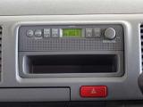 AM/FMラジオを搭載してます。