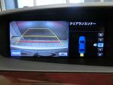 バックモニター付きです。ガイド機能付きなのでバック駐車を安全、スムーズに行うことができます。また、クリアランスソナーも装備されておりますのでアラームで危険を知らせてくれます。
