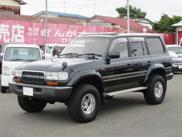 トヨタ ランドクルーザー  VX LTD キャンピング 4200ディーゼルターボ