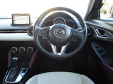 オルガン式アクセルペダルをはじめ正しい姿勢が取れる運転席により長時間のドライブでも疲れにくくなっています