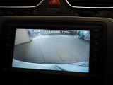バックカメラ使用時のナビ画面、バックをサポートしてくれます。