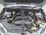 2リッターレギュラーガソリン仕様アイドリングストップ付!低重心で低振動の水平対向エンジンです!