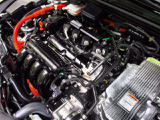 LEB-H4型 1.5L 4気筒DOHC i-VTECハイブリッドエンジン搭載です