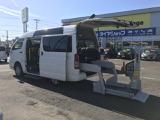 トヨタ ハイエースバン 3.0 ウェルキャブ Cタイプ ロング ルーフサイドウインドゥ付 ディーゼル 4WD