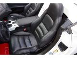 運転席革シート座面・背もたれ・ドア内張り綺麗です。パワーシート動作良好です。