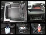【助手席アッパーボックス】・【シートアンダーボックス】・【ショッピングフック】など充実収納で車内すっきり。