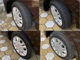 4本のタイヤ、それぞれの画像です。