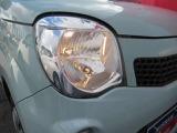 純正ハロゲンライト 夜間走行でも明るく照らすキセノン・LEDライトの取付けも出来ます。(有料)